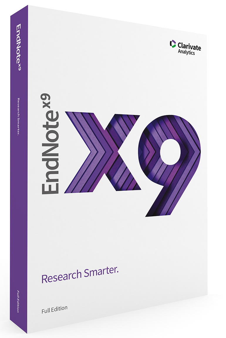 EndNote X9 - Reference Management and citations